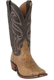 rios of mercedes men u0027s peat vintage smooth ostrich boots pinto ranch