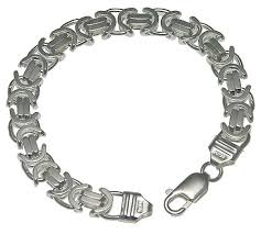 mens silver byzantine necklace images Sterling silver jewelry chains byzantine chains jpg