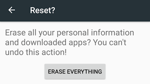 how to reset android how to factory reset android tech advisor