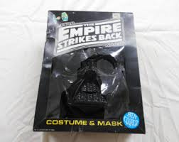 Halloween Costume Darth Vader Ben Cooper Etsy