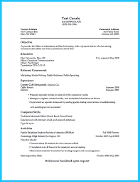 Job Resume Objective Restaurant by Check The Resume Resume For Your Job Application