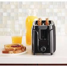 Best Toaster 2 Slice Mainstays 2 Slice Toaster Black Walmart Com