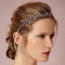 hair accessories headbands silver gold rhinestone bridal headband wedding hair accessories
