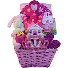 small gift baskets princess baby girl pink gift basket small of