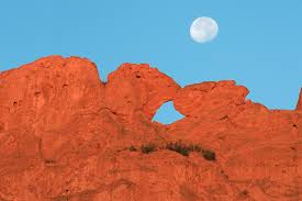 Garden Of The Gods Rock Formations Camels Rock Formation