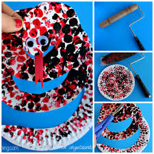 paper plate snake craft