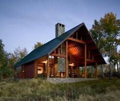 signature cabin plan by david wright front elevation rustic small