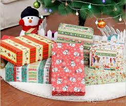 christmas wrapping bags dhl sf express christmas packing paper gift packing bags