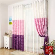 Girl Bedroom Curtains | multi color chic style girls bedroom curtains