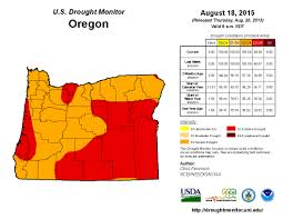Oregon Drought Map by Oregon Grass Blog Home And Garden News