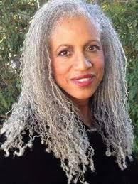 beautiful gray natural hair styles pinterest gray locs and