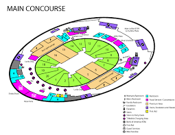 Arena Maps Concourse Maps T Mobile Arena