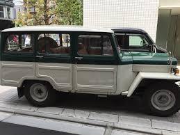 mitsubishi jeep mitsubishi jeep j37 station wagon 4x4