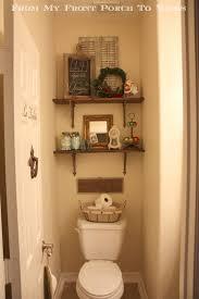 decorating ideas for bathroom shelves bathroom tiny half bathroom with toilet design ideas also small