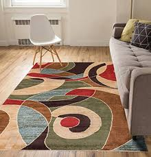 3 X 4 Area Rug Calm Chaos Multi Modern Casual Geometric Area Rug 3 5 3 3 X