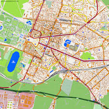 Versailles France Map by City Maps Versailles