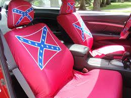 confederate flag seat covers confederate flag paraphernalia