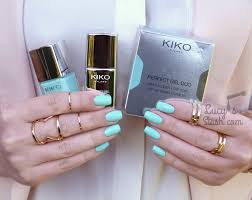 kiko perfect gel duo in milky mint review u0026 swatches lucy u0027s stash