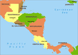 Middle America Map Map Maps Usa Florida Canada Mexico Caribbean Cuba South America