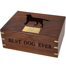 pet urns for dogs wooden box pet urn large