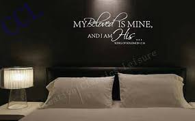 bedroom wall quotes projects design bedroom wall decals quotes master vinyl decal