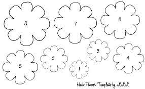 printable large flowers large flower template printable sapia info