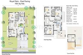 east meadows floor plan 6300 sq ft 4 bhk floor plan image splendid aparna palm meadows