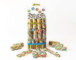 party streamers multi coloured party streamers bulk box of 54 rolls the party