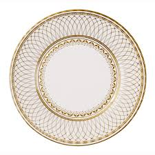 50th anniversary gold plate 8 x gold large paper plates golden wedding 50th anniversary