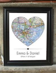Anniversary Gifts For Men Engagement - pushpin maps weedingbook guestbook love anniversarygift