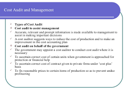 types and prices strategic cost management