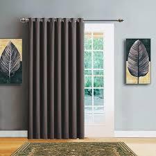 Door Curtains 102 Wide Blackout Patio Door Or Sliding Door Curtains In 7 Colors