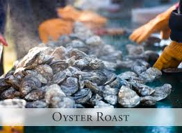 a november oyster roast with friends journey of the orange thread