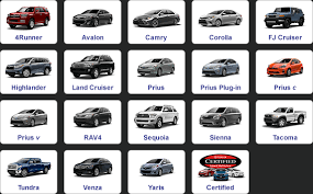 toyota all cars models all toyota models 2018 2019 car release and reviews