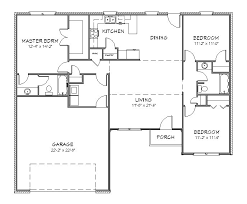 cottage floor plans free house plans free withal floor plan exle h ranch house plan