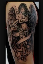 25 parasta ideaa pinterestissä angel tattoo designs