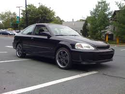 honda cars 2000 2000 black civic si 100 stock 22 000 original miles hondaswap
