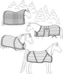 Horse Rug Racks For Sale Patterns For All Things Equestrian Horse Blankets Fly Masks