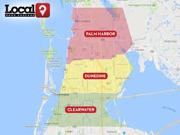 Clearwater Florida Map by Clearwater Fl U2013 Local Door Coupons