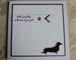 sympathy cards for pets pet sympathy card etsy