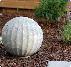 diy project shannon s concrete garden spheres design sponge