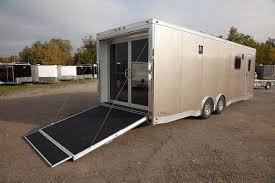 enclosed trailer interior light kit complete trailers llcglass door custom custom steel aluminum