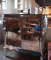 Mirrored Bar Cabinet Mcmillen Plus Tag David Rago
