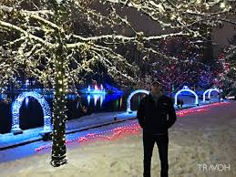 Twinkling Christmas Tree Lights Canada by Lafarge Winter Lights Display U2013 Spectacle For The Holiday Season