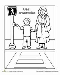 worksheets from the first lesson in my safety unit we talked