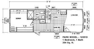 Park Model Homes Floor Plans Floor Plan Pm 12351f Little Hero Park Model Cavco Homes Of