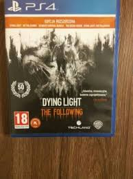 dying light playstation 4 archiwalne dying light the following ps4 playstation 4 pl wymiana