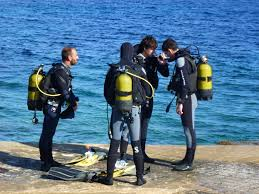 courses padi become a certified diver s u0027algar diving menorca