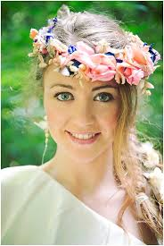 flower headdress bridal flower headdress bohemian bridal inspiration your wedding