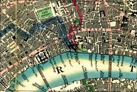 Map Of Ucla Map Of London In 1846 During John Snow